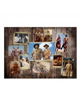 Bud Spencer & Terence Hill Jigsaw Puzzle Western Photo Wall (1000 pieces)