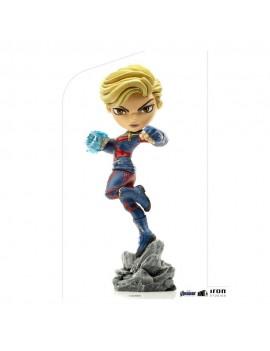 Avengers Endgame Mini Co. PVC Figure Captain Marvel 18 cm
