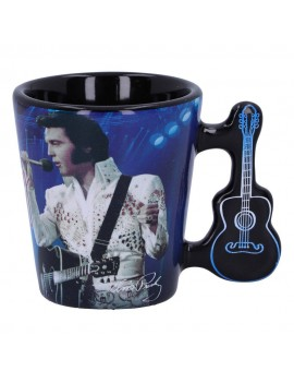 Elvis Presley Espresso Mug The King of Rock and Roll