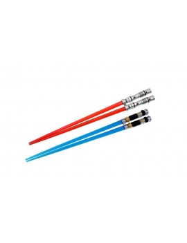 Star Wars Chopstick Darth Maul & Obi-Wan Kenobi Lightsaber Chopstick Battle 2-Set