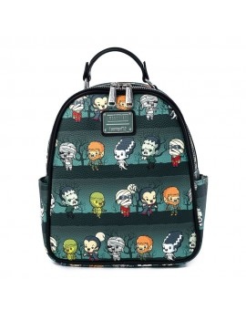 Universal Monsters by Loungefly Backpack Chibi AOP