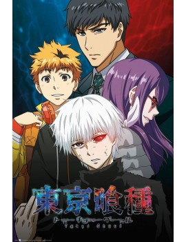 Tokyo Ghoul Poster Pack Conflict 61 x 91 cm (5)