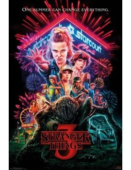 Stranger Things 3 Poster Pack One Sheet 61 x 91 cm (5)
