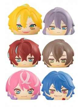 Hypnosis Mic: Division Rap Battle Fluffy Squeeze Bread Anti-Stress Figures 8 cm Assortment (6)