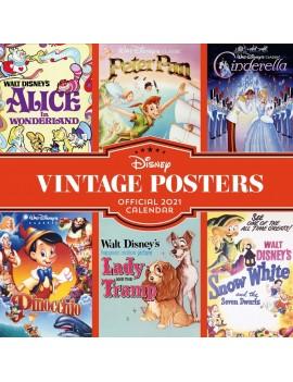 Disney Vintage Posters Calendar 2021 *English Version*