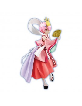 Re:ZERO SSS PVC Statue Fairy Tale Ram Princess Kaguya Pearl Color Ver. 21 cm