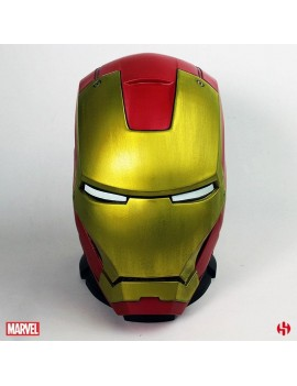 Iron Man Coin Bank MKIII Helmet 25 cm