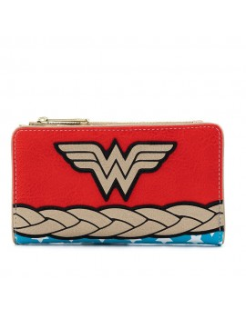DC Comics by Loungefly Wallet Vintage Wonder Woman Cosplay