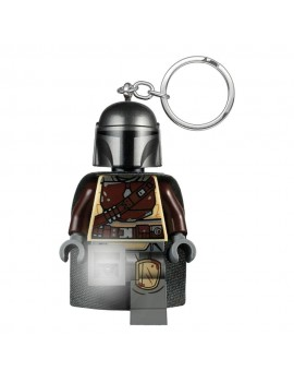 LEGO Star Wars The Mandalorian Light-Up Keychain Din Djarin 6 cm