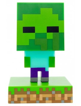 Minecraft 3D Icon Light Zombie