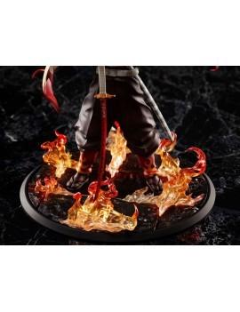 Demon Slayer: Kimetsu no Yaiba Statue 1/8 Mugen Train Kyojuro Rengoku 20 cm