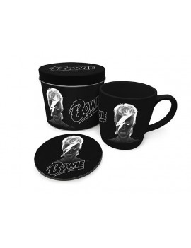 David Bowie Mug with Coaster X-Ray