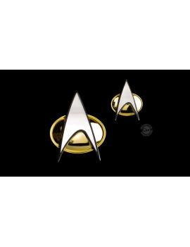 Star Trek: The Next Generation Badge & Pin Set Communicator