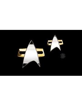 Star Trek: Voyager Enterprise Badge & Pin Set