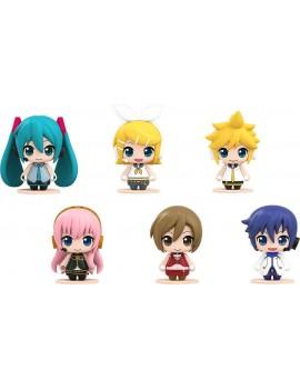Piapro Characters Pocket Maquette Mini Figures 6-Pack Hatsune Miku 01 5 cm