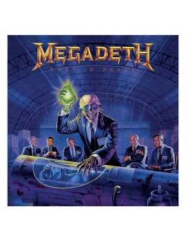 Megadeth Rock Saws Jigsaw Puzzle Rust in Peace (500 pieces)