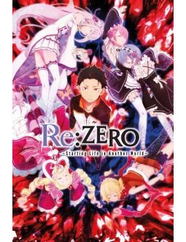 Re:Zero Poster Pack Key Art 61 x 91 cm (5)