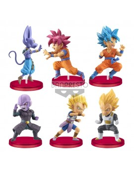Dragon Ball Super WCF ChiBi PVC Statues 7 cm Assortment Battle of Saiyans (12)