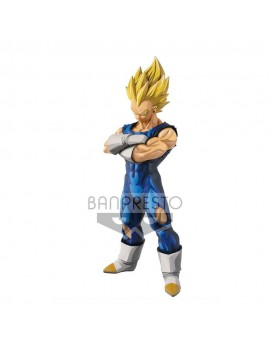 Dragon Ball Z Grandista PVC Statue Super Saiyan Vegeta Manga Dimensions 34 cm