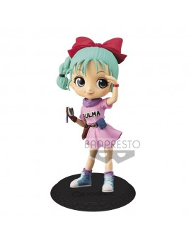 Dragon Ball Z Q Posket Mini Figure Bulma Ver. A 14 cm