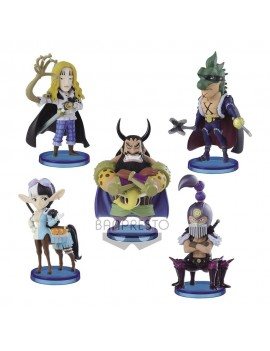 One Piece WCF ChiBi PVC Statues 7 cm Assortment Beasts Pirates 2 (12)