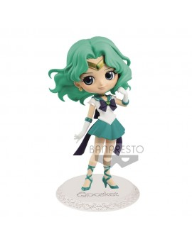 Sailor Moon Eternal The Movie Q Posket Mini Figure Super Sailor Neptune Ver. A 14 cm