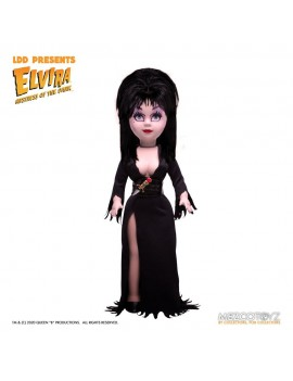 Elvira Mistress of the Dark Living Dead Dolls Doll Elvira 25 cm