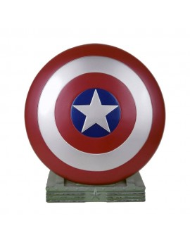 Marvel Coin Bank Captain America Shield 25 cm