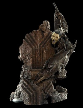 Lord of the Rings Statue Moria Orc 17 cm