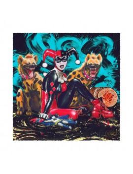 DC Comics Art Print Bud & Lou 56 x 56 cm - unframed