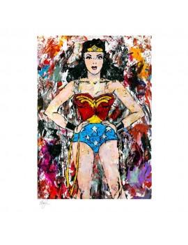 DC Comics Art Print Golden Age Wonder Woman 46 x 61 cm - unframed