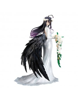Overlord III PVC Statue 1/8 Albedo Wedding Dress Version 23 cm