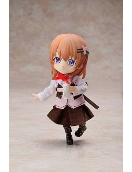 Is the Order a Rabbit? Chibikko Doll Action Figure Cocoa 10 cm