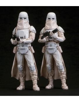 Star Wars ARTFX+ Statue 2-Pack Snowtrooper 18 cm