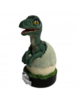 Jurassic World Premium Motion Statue Blue Raptor Hatchling 19 cm