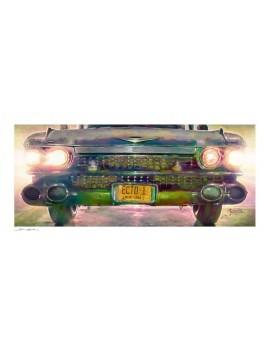 Ghostbusters Art Print Ecto-1 46 x 61 cm - unframed