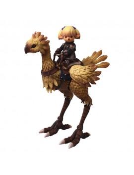 Final Fantasy XI Bring Arts Action Figures Shantotto & Chocobo 8 - 18 cm