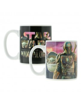 Star Wars The Mandalorian Heat Change Mug The Mandalorian