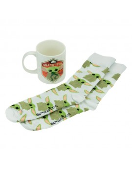 Star Wars The Mandalorian Mug & Socks Set The Child