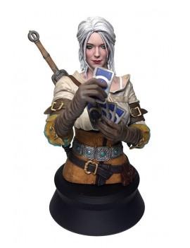Witcher 3 Wild Hunt Bust Ciri Playing Gwent 20 cm
