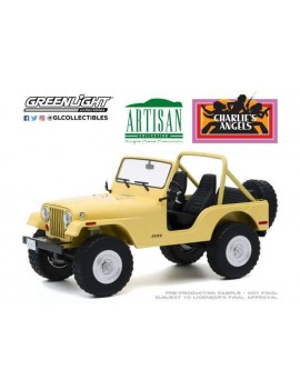 Charlie´s Angels Diecast Model 1/18 1980 Jeep CJ-5