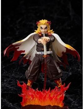 Demon Slayer: Kimetsu no Yaiba The Movie: Mugen Train Action Figure 1/12 Kyojuro Rengoku 15 cm