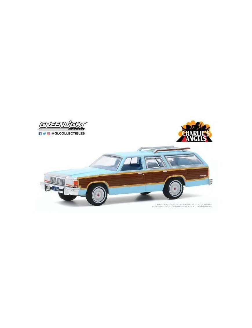 Charlie´s Angels Diecast Model 1/64 1979 Ford LTD Country Squire