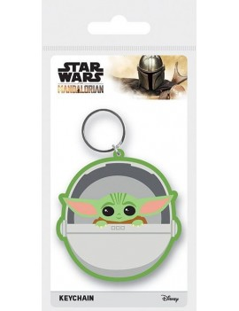 Star Wars The Mandalorian Rubber Keychains The Child 6 cm Case (10)
