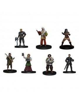 D&D Icons of the Realms pre-painted Miniatures The Yawning Portal Inn - Friendly Faces Pack