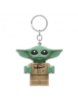 LEGO Star Wars The Mandalorian Light-Up Keychain Baby Yoda 6 cm