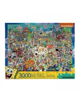 SpongeBob Jigsaw Puzzle Bikini Bottom (3000 pieces)