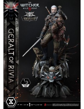Witcher 3 Wild Hunt Statue 1/3 Geralt von Riva Deluxe Version 88 cm