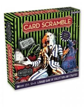 Beetlejuice Board Game Card Scramble *English Version*