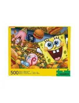 SpongeBob Jigsaw Puzzle Krabby Patties (500 pieces)